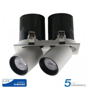 Oprawa Downlight V-TAC SAMSUNG CHIP 36W CRI90+ 24st VT-436 4000K 2900lm 5 Lat Gwarancji