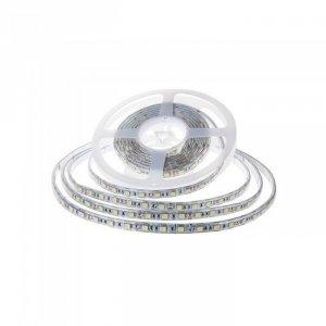 Taśma LED V-TAC SMD2835 1200LED 24V IP65 2xPCB RĘKAW 10mb 7,2W/m 120LED/m VT-2835 6400K 600lm