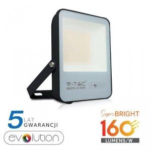 Projektor LED V-TAC 50W Czarny EVOLUTION 160lm/W VT-4961 4000K 8000lm 5 Lat Gwarancji
