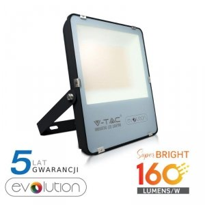 Projektor LED V-TAC 200W Czarny EVOLUTION 160lm/W VT-49261 6400K 32000lm 5 Lat Gwarancji