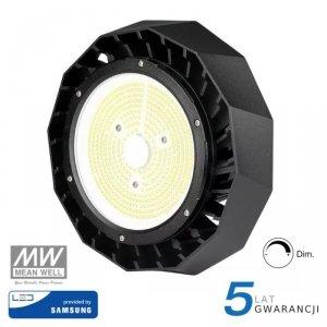 Oprawa V-TAC LED High Bay SAMSUNG CHIP 200W Meanwell 140lm/W VT-9-200 4000K 28000lm 5 Lat Gwarancji