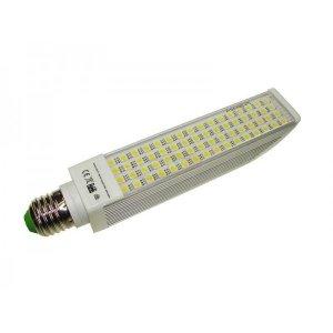 Żarówka LED PL E27 13W 230V BIAŁY CIEPŁY