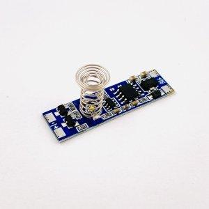 Włącznik dotykowy ściemnialny do LED montowany w profil aluminiowy 48W 5-24V