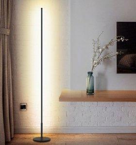 Nowoczesna Lampa LED biała podłogowa CCT + pilot