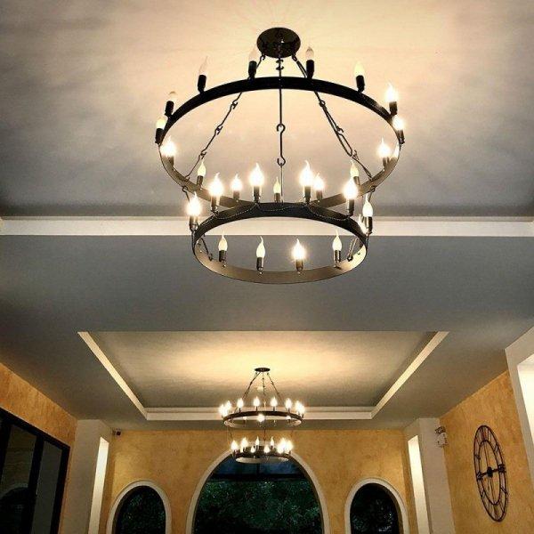 Żarówka LED V-TAC SAMSUNG CHIP 5.5W E14 Świeczka Płomyk VT-258 3000K 470lm 5 Lat Gwarancji