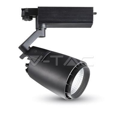 Oprawa Track Light LED V-TAC 33W 22st Czarny VT-4534 6000K 2300lm
