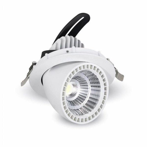 Oprawa 33W LED V-TAC Downlight Okrągły Biały typu ślimak VT-2933 6400K 2650lm