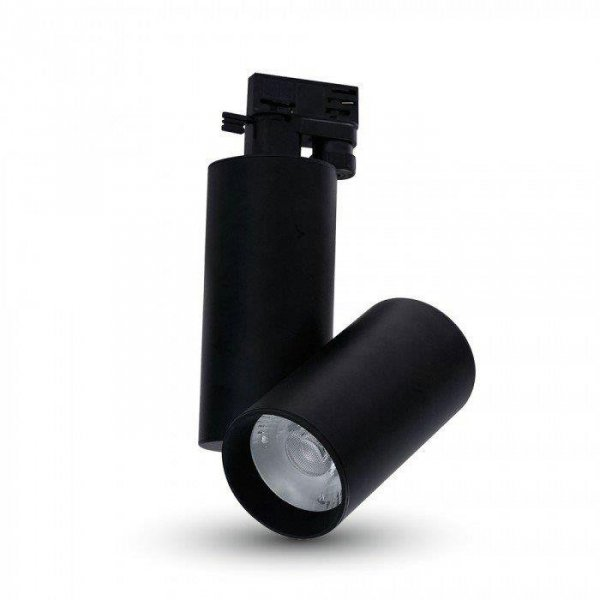 Oprawa Track Light LED V-TAC 15W 24st Czarny VT-4615 6400K 1350lm 5 Lat Gwarancji