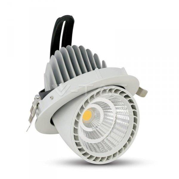 Oprawa 33W LED V-TAC Downlight Okrągły Biały typu ślimak VT-2933 3000K 2650lm