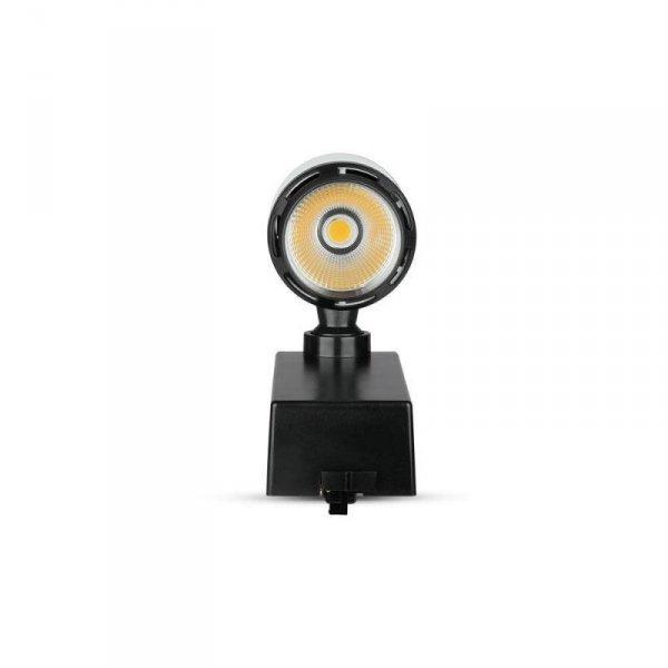 Oprawa Track Light LED V-TAC 10W 24st Czarny Biały VT-4512 3000K 800lm