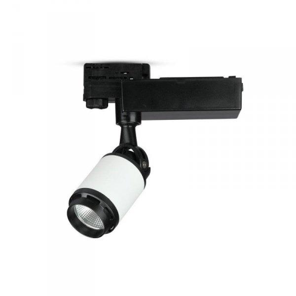 Oprawa Track Light LED V-TAC 35W 24st LED Czarny Biały VT-4537 6400K 2850lm