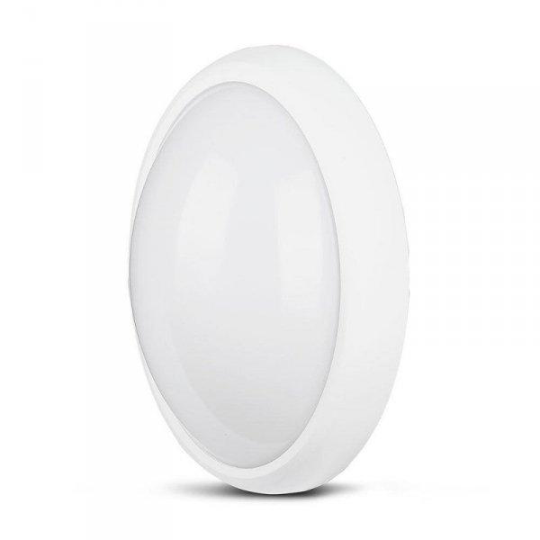 Plafon 12W LED V-TAC Owal Biały IP54 VT-8010 3000K 840lm