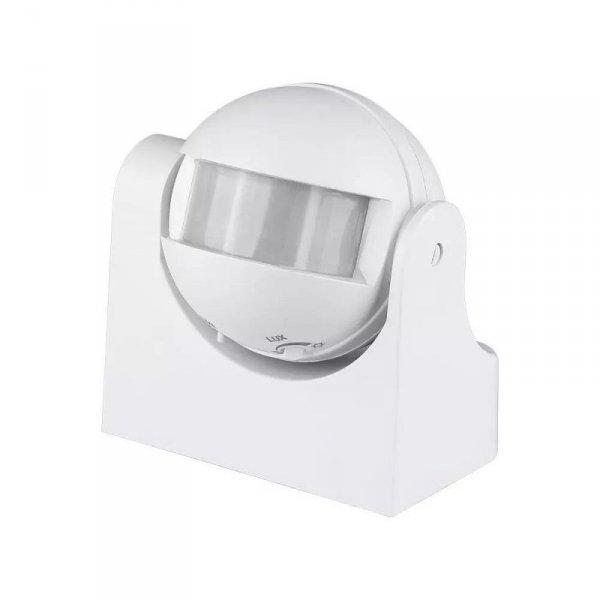 Czujnik Ruchu V-TAC z funkcją On/Off 180st na podczerwień biały VT-8048