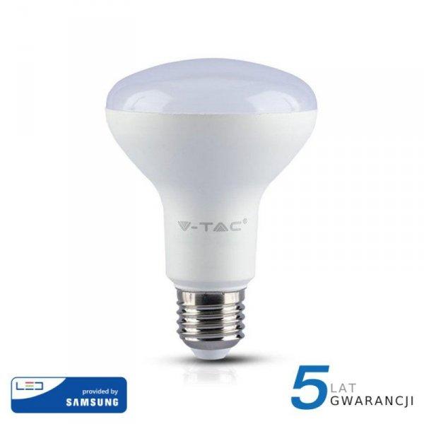 Żarówka LED V-TAC SAMSUNG CHIP 10W E27 R80 VT-280 6400K 800lm 5 Lat Gwarancji