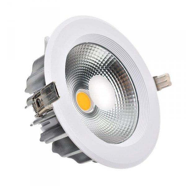 Oprawa Downlight 40W COB Okrągła 120lm/W VT-26451 3000K 4800lm