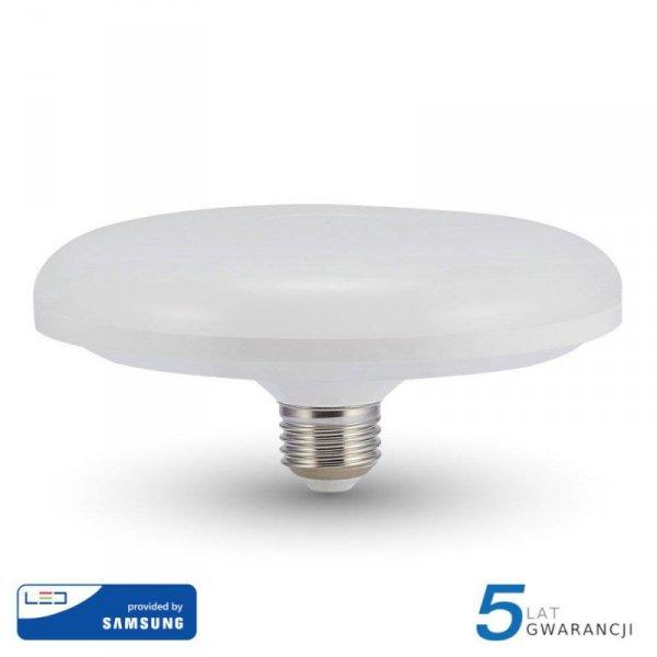 Żarówka LED V-TAC SAMSUNG CHIP 24W E27 fi200 UFO VT-224 6400K 1900lm 5 Lat Gwarancji