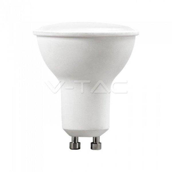 Żarówka LED V-TAC 5W GU10 SMD 110st Mleczna Szybka (Opak. 6szt) VT-2225 6400K 400lm