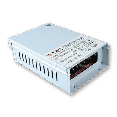 Zasilacz LED V-TAC 60W 12V 5A Metalowy Bryzgoszczelny IP45 Filtr EMI VT-21060