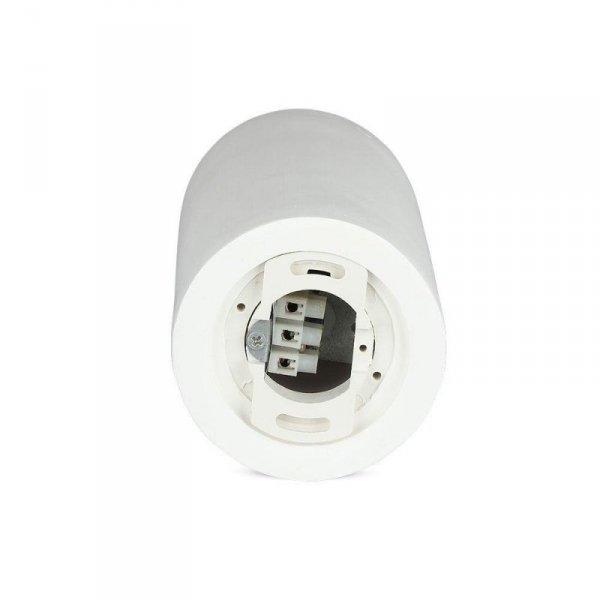 Oprawa V-TAC GIPS BETON GU10 Natynkowa Biały/Chrom Mat VT-865 5 Lat Gwarancji