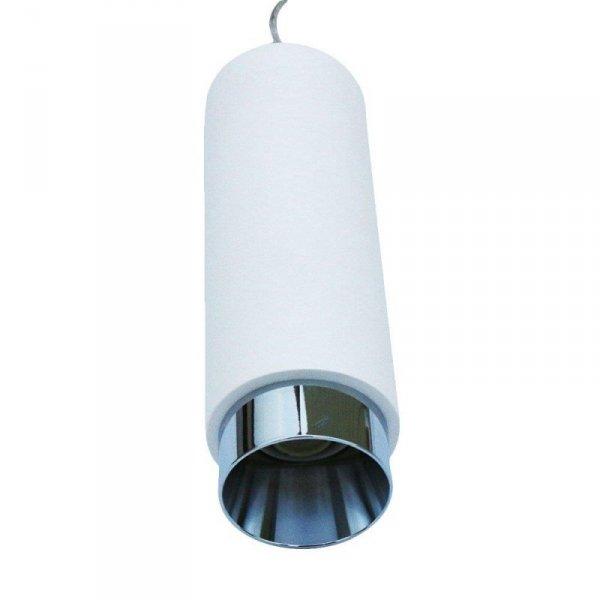 Oprawa V-TAC GIPS BETON GU10 Zwis Biały/Chrom VT-864 5 Lat Gwarancji