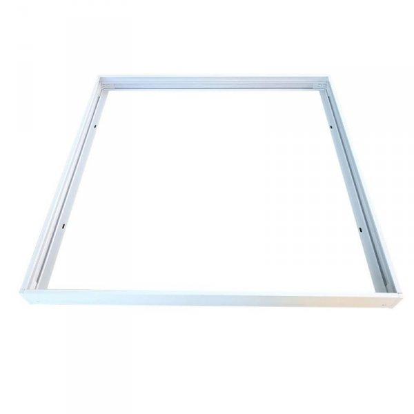 Ramka Natynkowa do Paneli LED składana Klik Klik 600x600 Biała V-TAC
