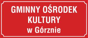 Tablica Gminny Ośrodek Kultury 70/30cm
