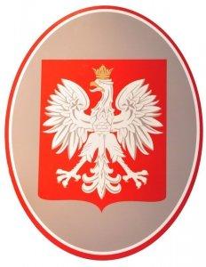 Godło Polski 40 cm x 50 cm