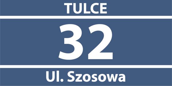 Tablica numer na dom 31/15cm