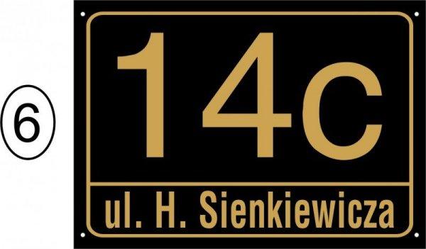 Tabliczka adresowa 42 cm x 29,7 cm