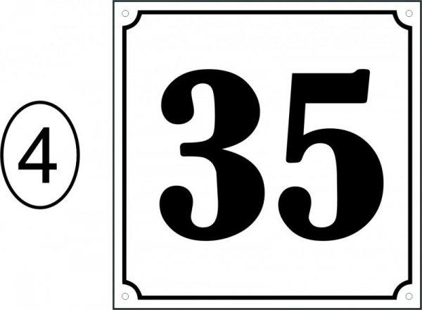 Tabliczka adresowa 20 cm x 20 cm
