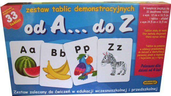 Zestaw Edukacyjny od A do Z