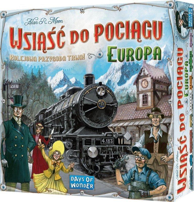 Gra Wsiąść do Pociągu Europa