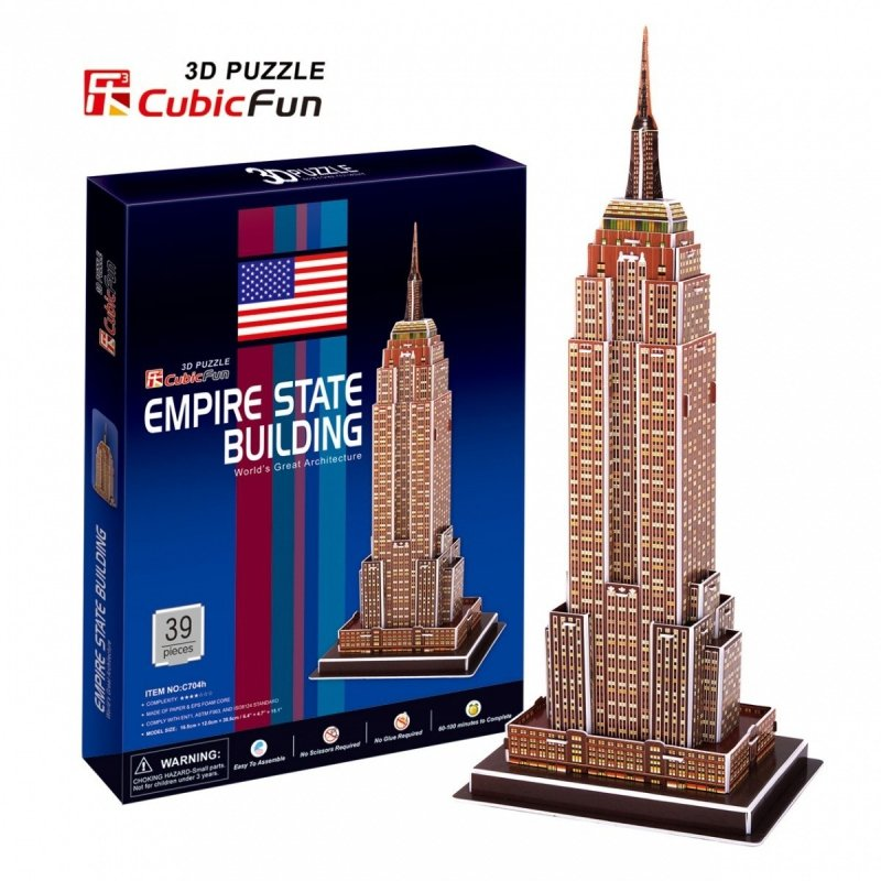 Puzzle 3D Empire State Building