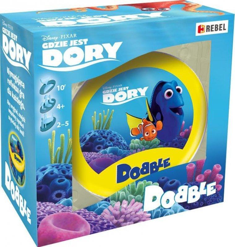 Gra Dobble: Gdzie jest Dory?