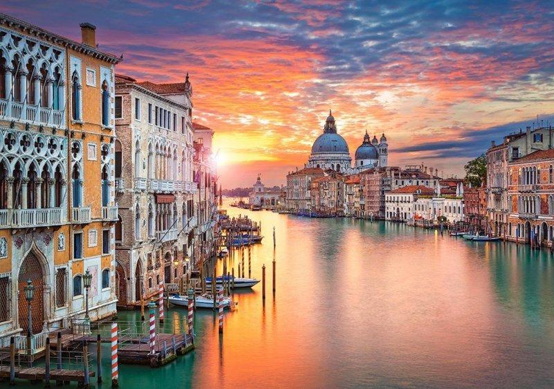 500 Elementów, Zachód słońca w Wenecji