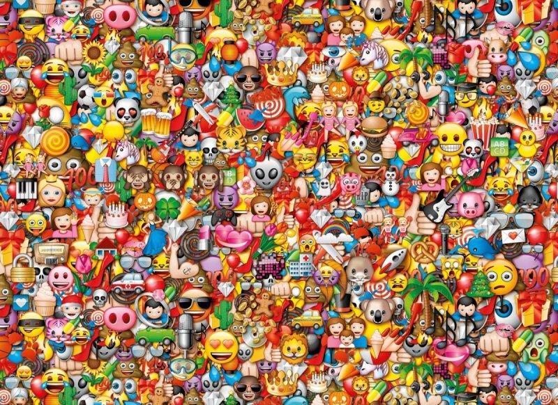 1000 Elementów Emoji