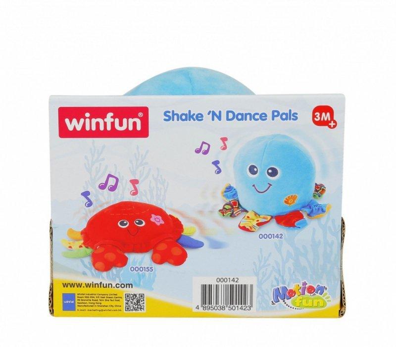 Maskotka interaktywna Winfun Ośmiornica tańczę i wibruję