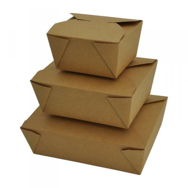 Pudełko papierowe lunchowe 750ml, 50szt
