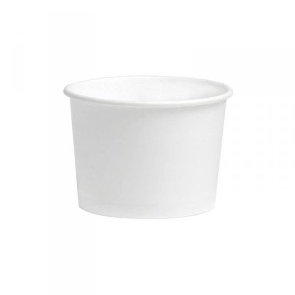 Kubek deserowy do lodów 100ml/4oz biały, 50szt