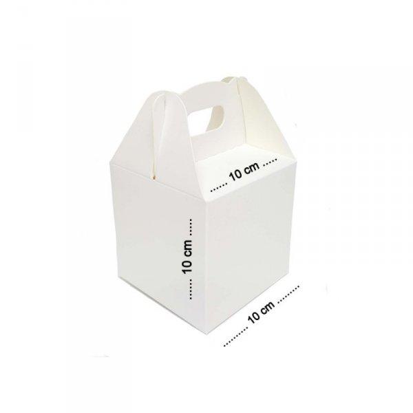 Pudełko na ciasto 10x10x10cm, 50szt