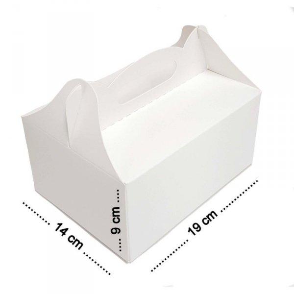 Pudełko na ciasto 19x15x9cm, 50szt