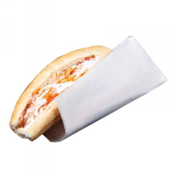 Koperta papierowa HOT-DOG biała, 500szt