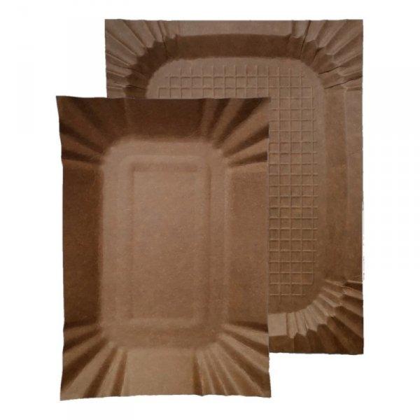Tacka papierowa kraft 14x25cm, 100szt