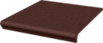 Paradyż Natural Brown Kapinos Stopnica Prosta Duro 30x33
