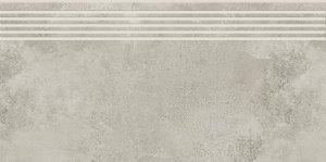 Opoczno Quenos Light Grey Steptread 29,8x59,8