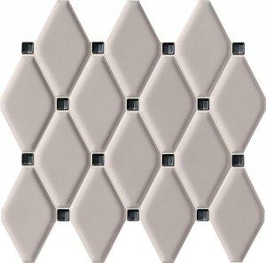 Tubądzin Abisso Grey Mozaika 29,8x27