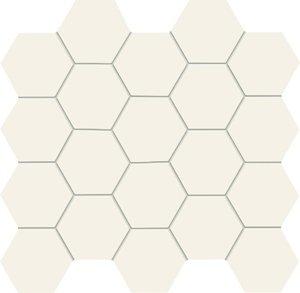 Tubądzin All in White / White Mozaika 30,6x28,2
