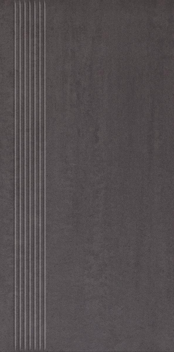 Paradyż Doblo Nero Stopnica Satyna 29,8x59,8