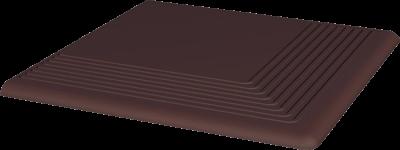 Paradyż Natural Brown Stopnica Narożna 30x30