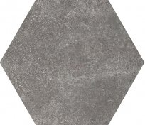 Equipe Hexatile Cement Black 17,5x20